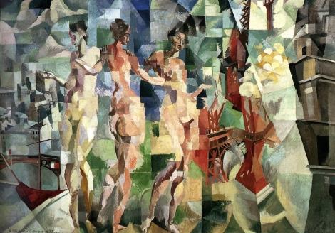 Robert Delauney, 'Le Ville de Paris', 1912