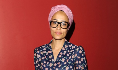 In the city … NW author Zadie Smith.