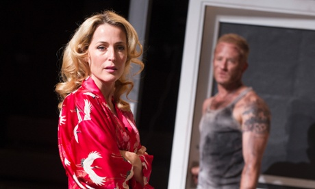 Gillian Anderson in A Streetcar Named Desire, NT Live 2014