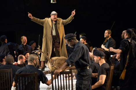 Simon Russell Beale as King Lear, NT Live 2014