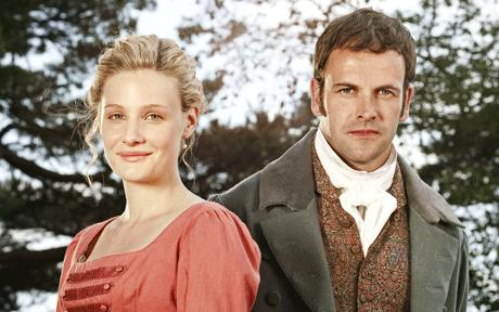 Romola Garai and Jonny Lee Miller in Emma, 2009