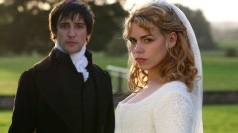 Billie Piper and Blake Ritson in Mansfield Park, 2007