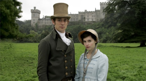 Felicity Jones and JJ Feild in Northanger Abbey, 2007