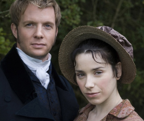 Sally Hawkins and Rupert Penry Jones in Persuasion, 2007