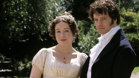 Jennifer Ehle and Colin Firth in Pride and Prejudice, 1995